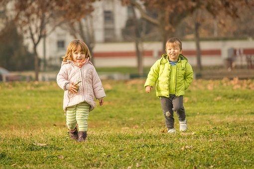 děti venku