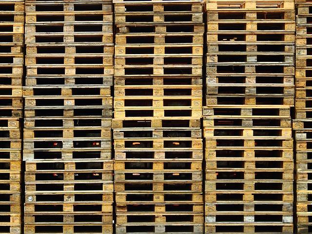 dřevo palety