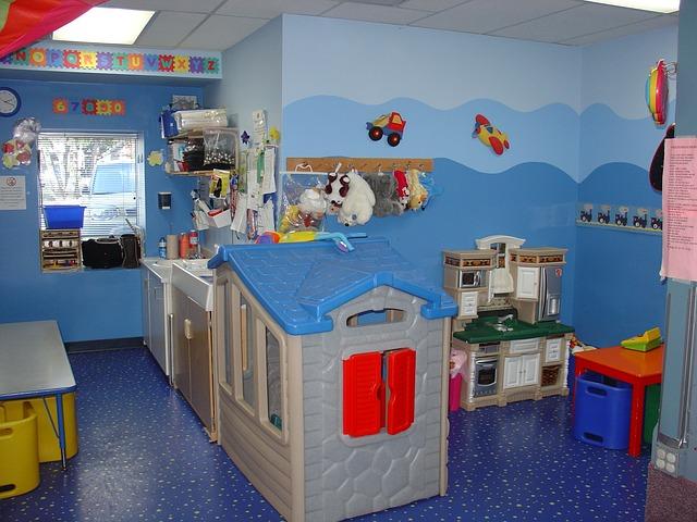 Moderní pokoj pro školáky