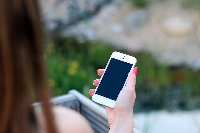 mobilní telefon Apple